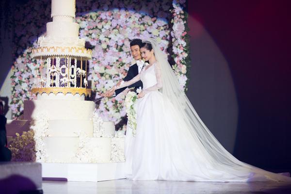 黄晓明&Anglebaby礼服大揭秘