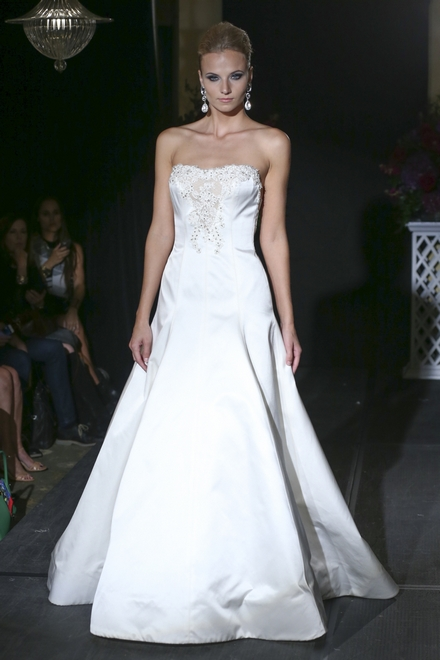 秋季纽约婚纱周:Isabelle Armstrong Fall 2016