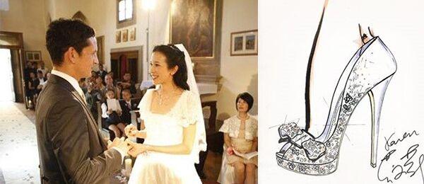 女神的水晶鞋:揭秘明星挚爱的奢华婚鞋