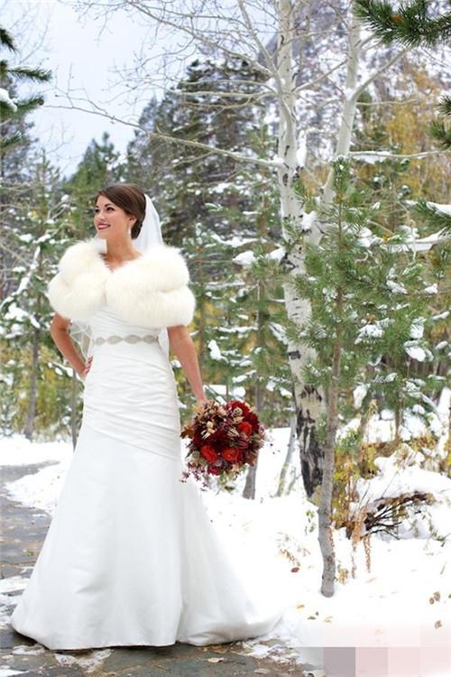 魅力珠宝打造完美冬日婚礼