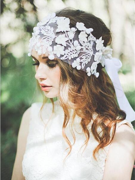新娘头纱的戴法图解 打造绝美新娘造型