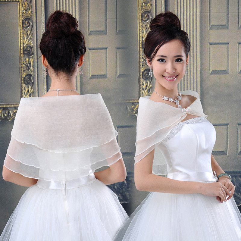 婚纱披肩挑选