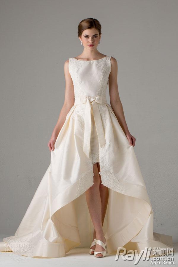 混搭魔法一件婚纱搞定婚礼多个环节