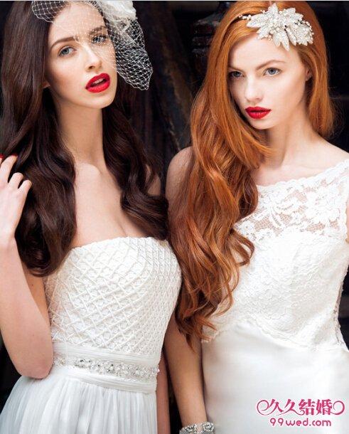 优雅新娘离不开这款浪漫婚纱